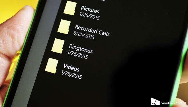 ضبط تماسهای تلفنی با ویندوز 10 موبایل.