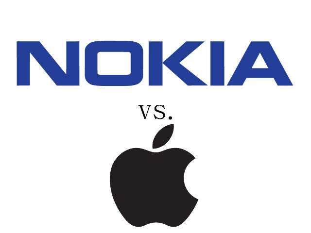 نوکیا به دلیل نقص پتنت اپل را به دادگاه میکشاند