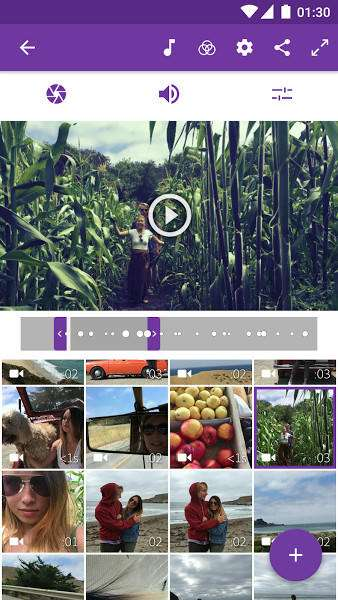 Adobe Premiere Clip video  - 5 اپلیکیشن برتر برای ویرایش ویدئو