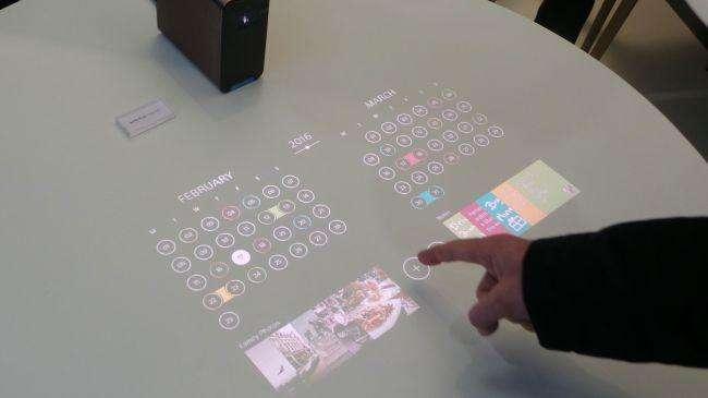 Xperia%20projector%20(5) - Xperia Projector: گجت خانگی متفاوت از سونی
