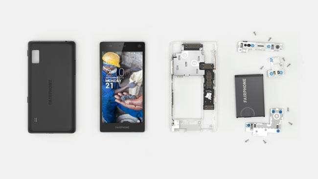The Fairphone 2 Dissassembled 2 - نگاهی نزدیک به گوشی کاملا ماژولار Fairphone 2
