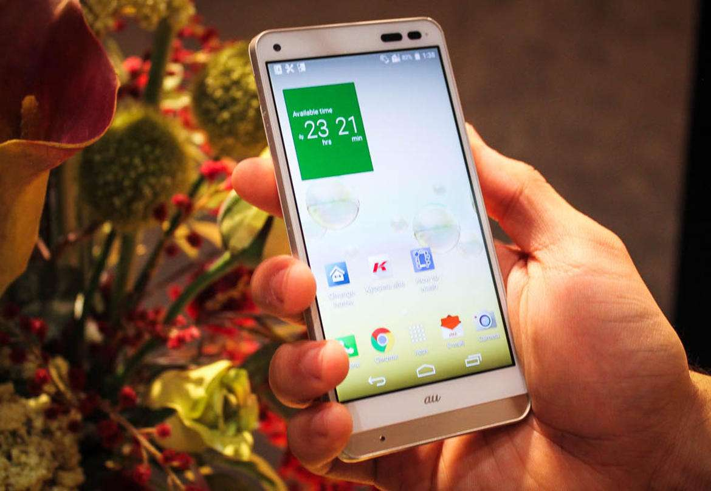 kyocera digno rafre 5(1) - آینده گوشیهای هوشمند ضدآب در دستان Kyocera