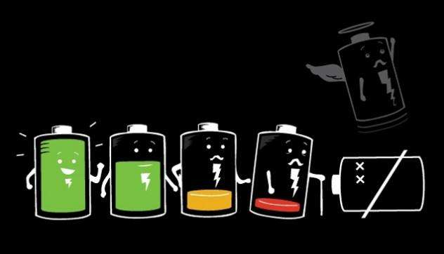 smartphone battery - امکان شارژ گوشی با شکر در آینده نزدیک!