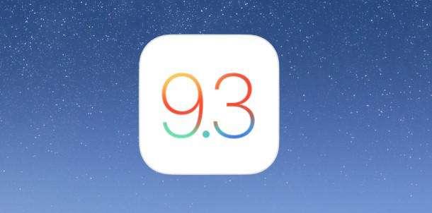 ios 9 3 update 610x302 - لینک دانلود iOS 9.3 و آیتونز 12.3.3 برای ویندوز و مک