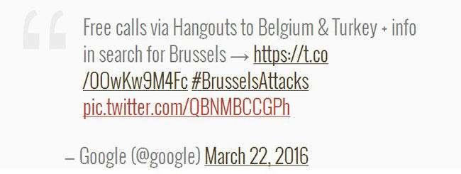 گوگل تماسهای تلفنی به بلژیک و ترکیه را رایگان کرد