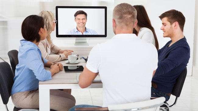 Videoconference - 5 کار هیجانانگیز که با 5G ممکن میشود