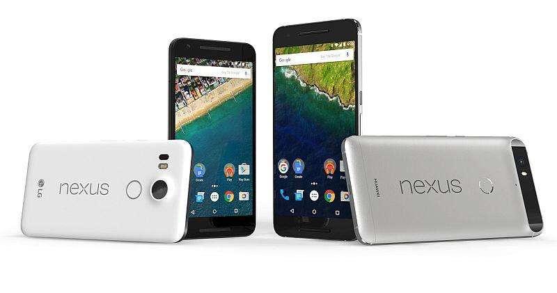 lg nexus 5x huawei nexus 6p official - قرارداد بلند مدت گوگل و HTC برای تولید نکسوس