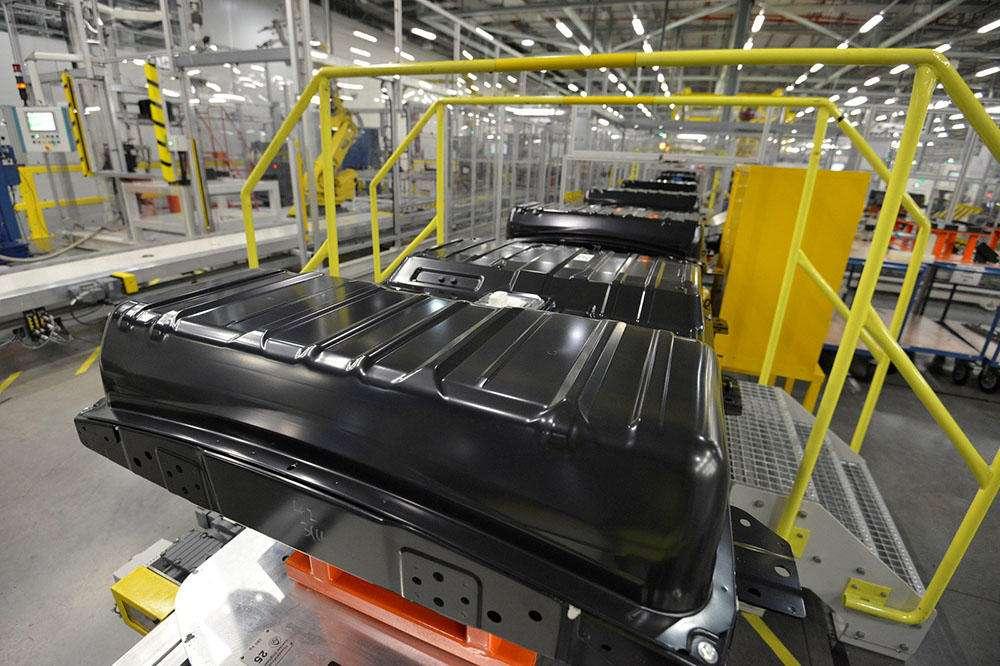 باتریهای خودرو برقی نیسان مدل Leaf