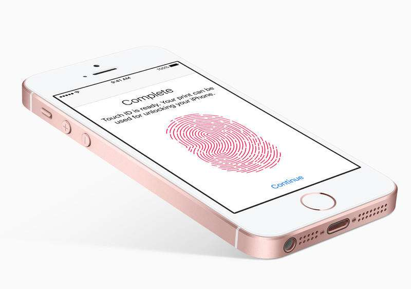 iPhone SE uses the old first generation Touch ID sensor - مقایسه نقاط ضعف و قوت iPhone SE و iPhone 6s