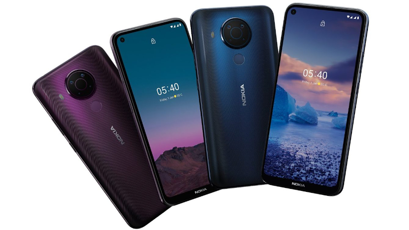 nokia 5 4 colorways